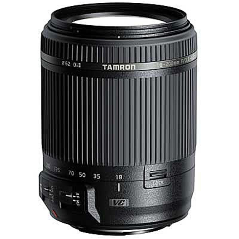 Tamron 18-200mm F3.5-6.3 VC II - Canon EOS Image 1