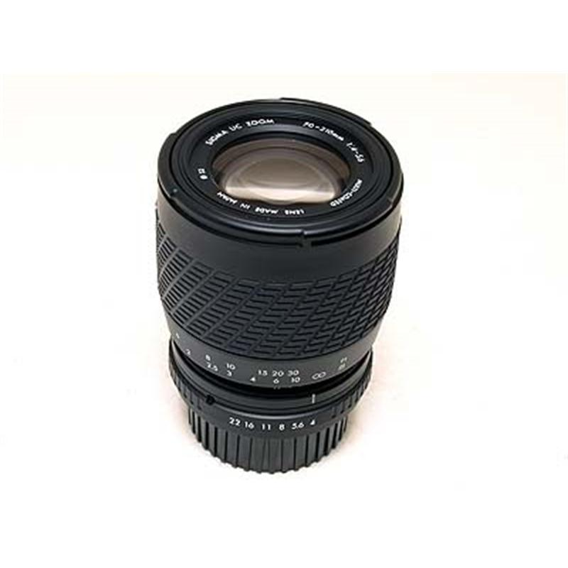 Sigma 70-210mm F4-5.6 Image 1