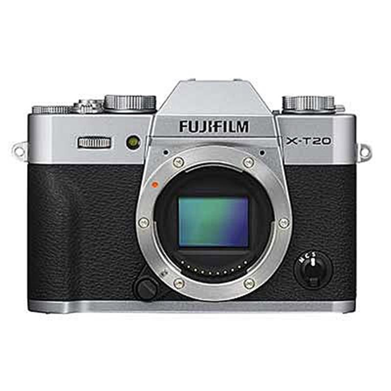Fujifilm X-T20 Body Only - Silver Thumbnail Image 2